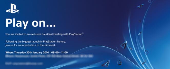 Sony Annoucment